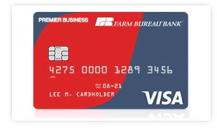 Farmbureaubank Com Farm Bureau Bank Premier Business Visa 174