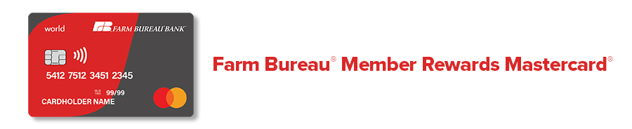 Farm Bureau Member Rewards MasterCard