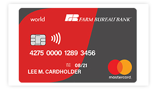 State Farm Bill Pay >> Farmbureaubank Com Choose The Card That S Right For You